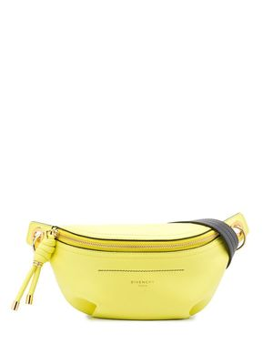 GIVENCHY | Givenchy Zipped Belt Bag - Yellow | Goxip